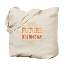 Orange Future Mrs Tote Bag