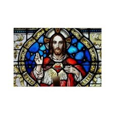 Sacred Heart Rectangle Magnet