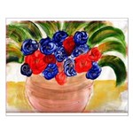 Flowers in Pot Small Poster