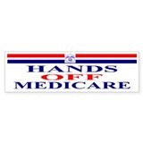Hands OFF Medicare Bumper Sticker