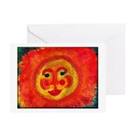 Sun Face Greeting Cards (Pk of 20)