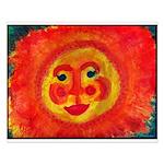 Sun Face Small Poster