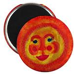 Sun Face Magnet