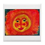 Sun Face Tile Coaster