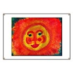 Sun Face Banner