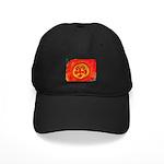 Sun Face Black Cap