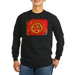 Sun Face Long Sleeve Dark T-Shirt