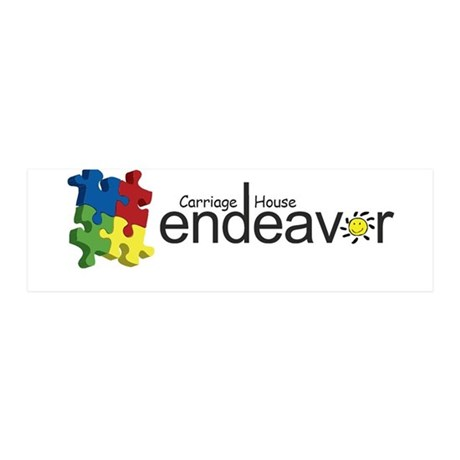 Endeavor Logo Products 42x14 Wall Peel