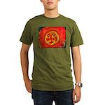 Sun Face Organic Men's T-Shirt (dark)