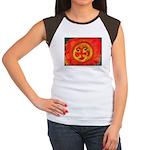 Sun Face Women's Cap Sleeve T-Shirt