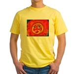 Sun Face Yellow T-Shirt