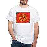 Sun Face White T-Shirt