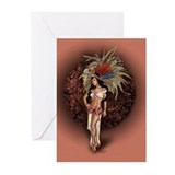 Aztec Princess Pin-Up Greeting Cards (Pk of 20)