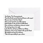 10 Commandments Greeting Cards (Pk of 20)