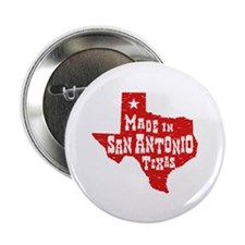 "Made In San Antonio Texas 2.25"" Button"