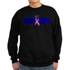 Blue Line Rose Sweatshirt