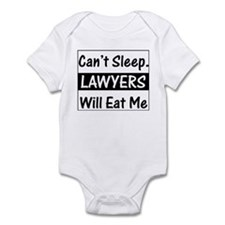 Lawyers Will Eat Me Infant Creeper
