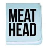 Meat Head baby blanket