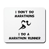 Do A Marathon Runner Mousepad