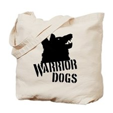 Warrior Dogs Tote Bag