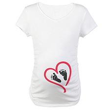 baby feet heart Shirt