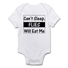 Flies Will Eat Me Infant Creeper