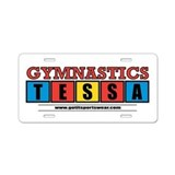 Tessa Aluminum License Plate
