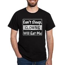 Clowns Will Eat Me Black T-Shirt