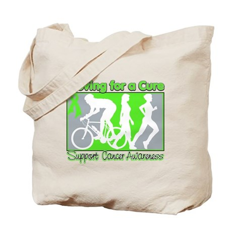Moving For a Cure Lymphoma Tote Bag
