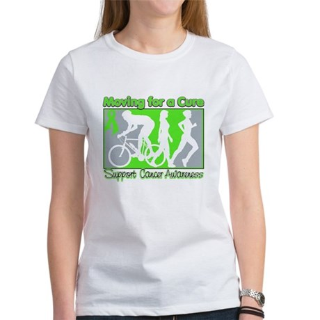 Moving For a Cure Lymphoma Women's T-Shirt