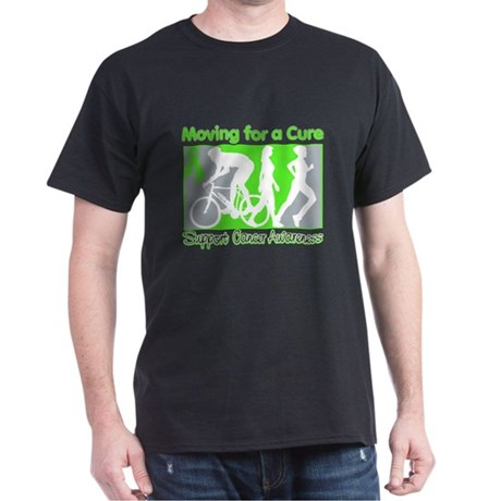 Moving For a Cure Lymphoma Dark T-Shirt