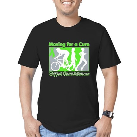 Moving For a Cure Lymphoma Men's Fitted T-Shirt (d