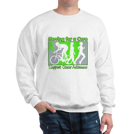 Moving For a Cure Lymphoma Sweatshirt