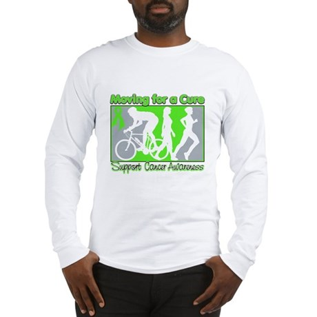Moving For a Cure Lymphoma Long Sleeve T-Shirt