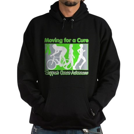 Moving For a Cure Lymphoma Hoodie (dark)