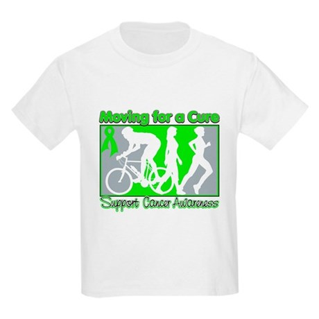 Moving For a Cure Lymphoma Kids Light T-Shirt