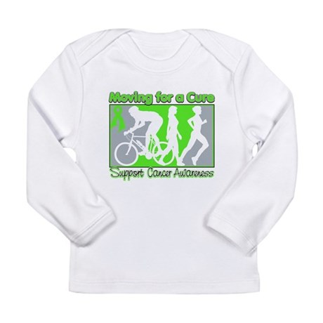 Moving For a Cure Lymphoma Long Sleeve Infant T-Sh