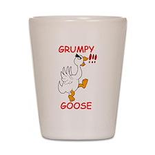Grumpy Goose Shot Glass