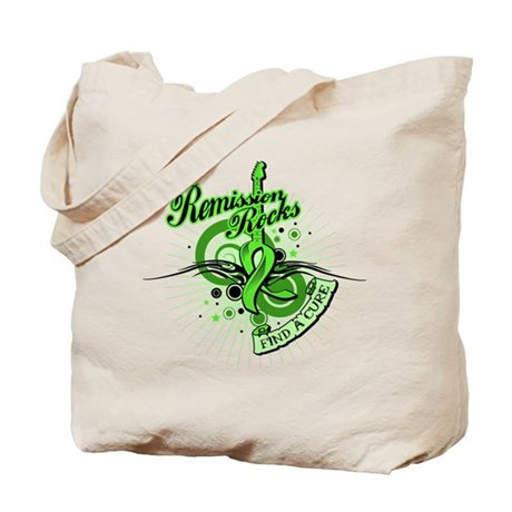 Remission Rocks Lymphoma Tote Bag