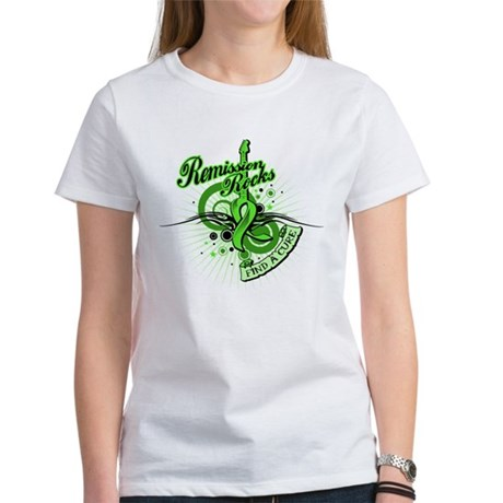 Remission Rocks Lymphoma Women's T-Shirt