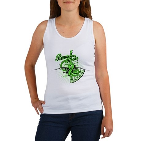 Remission Rocks Lymphoma Women's Tank Top