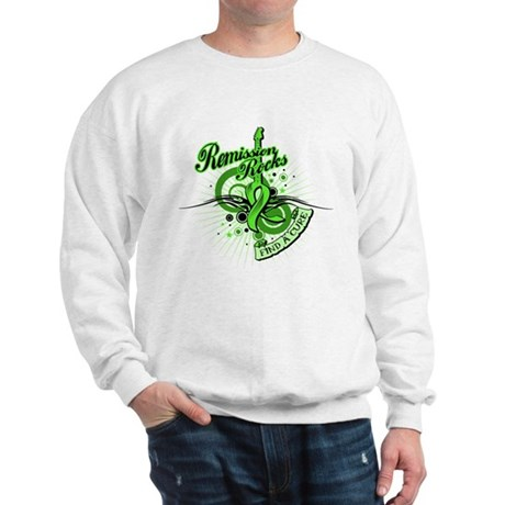 Remission Rocks Lymphoma Sweatshirt