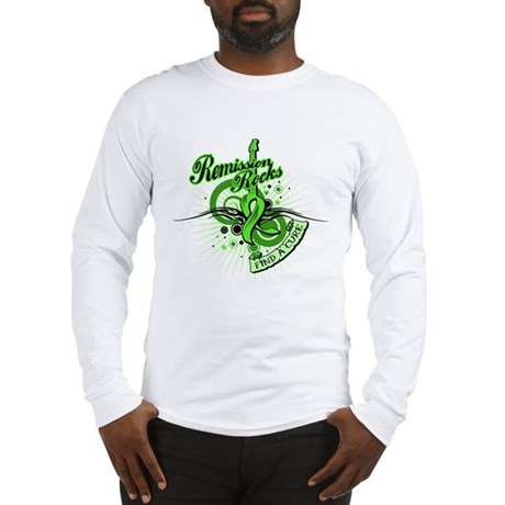 Remission Rocks Lymphoma Long Sleeve T-Shirt