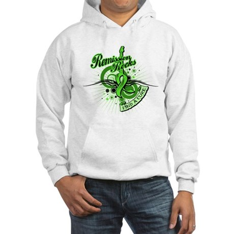 Remission Rocks Lymphoma Hooded Sweatshirt