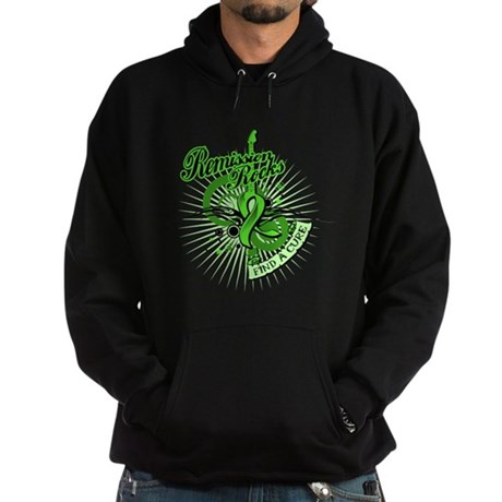 Remission Rocks Lymphoma Hoodie (dark)