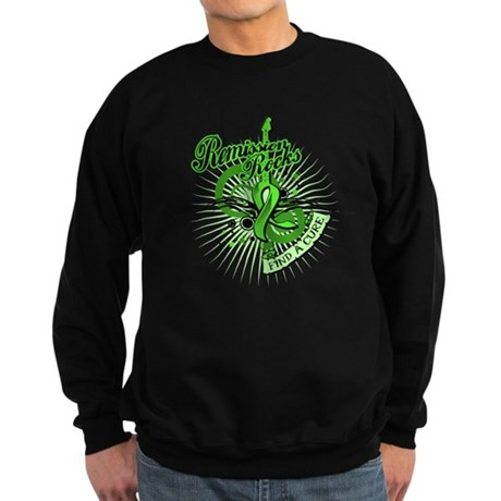 Remission Rocks Lymphoma Sweatshirt (dark)