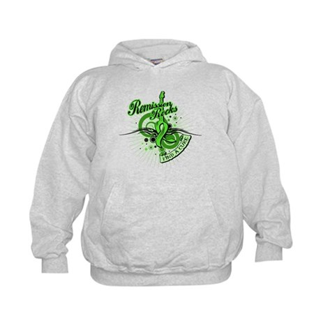 Remission Rocks Lymphoma Kids Hoodie
