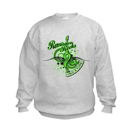 Remission Rocks Lymphoma Kids Sweatshirt