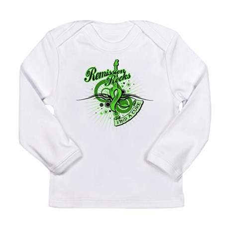Remission Rocks Lymphoma Long Sleeve Infant T-Shir