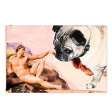 Creation of Pug! Postcards (Package of 8)